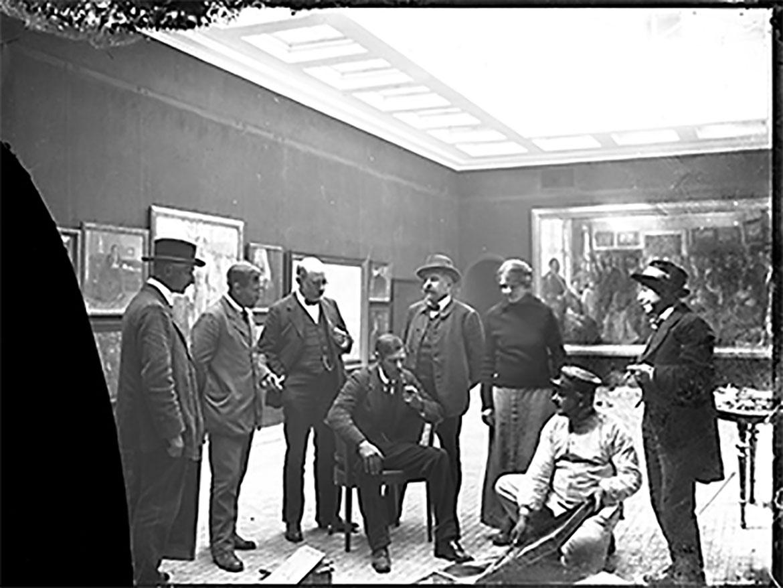 Retro 1915 – ein Wiedersehen mit der eigenen Hängung der Fünenmaler