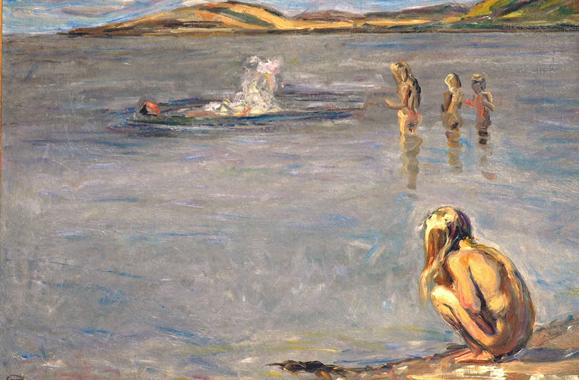Fritz Syberg, The Children Bathing, 1908. Faaborg Museum.
