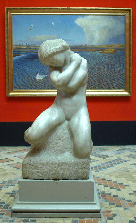 Kai Nielsen, The Marble Girl, 1909-10. Faaborg Museum.