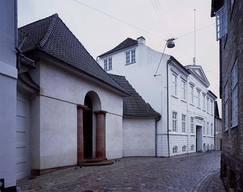 Faaborg Museums Facade mod Grønnegade, 1915.