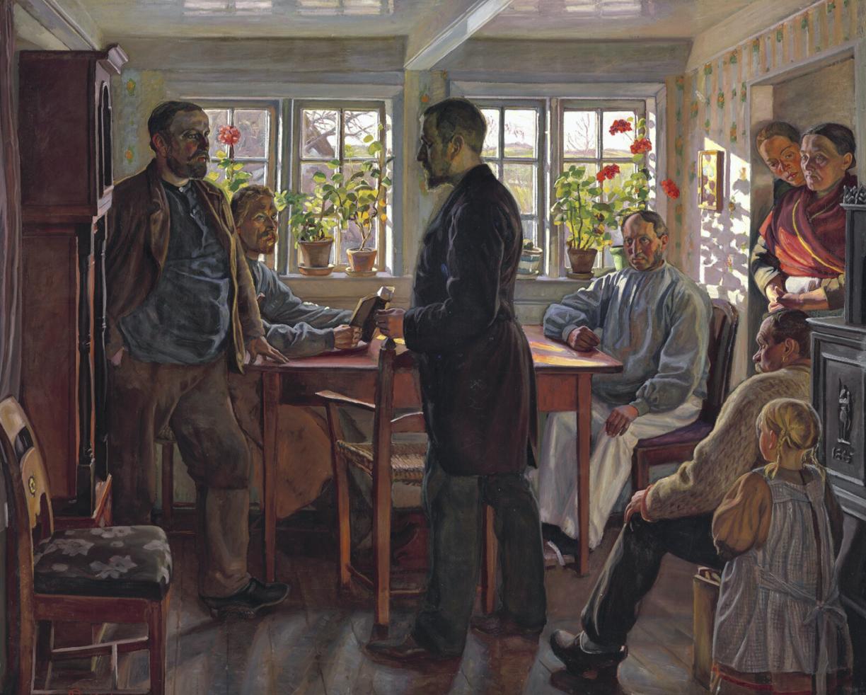 Nyt Fritz Syberg værk til samlingen